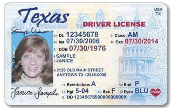 Places Renew Drivers License