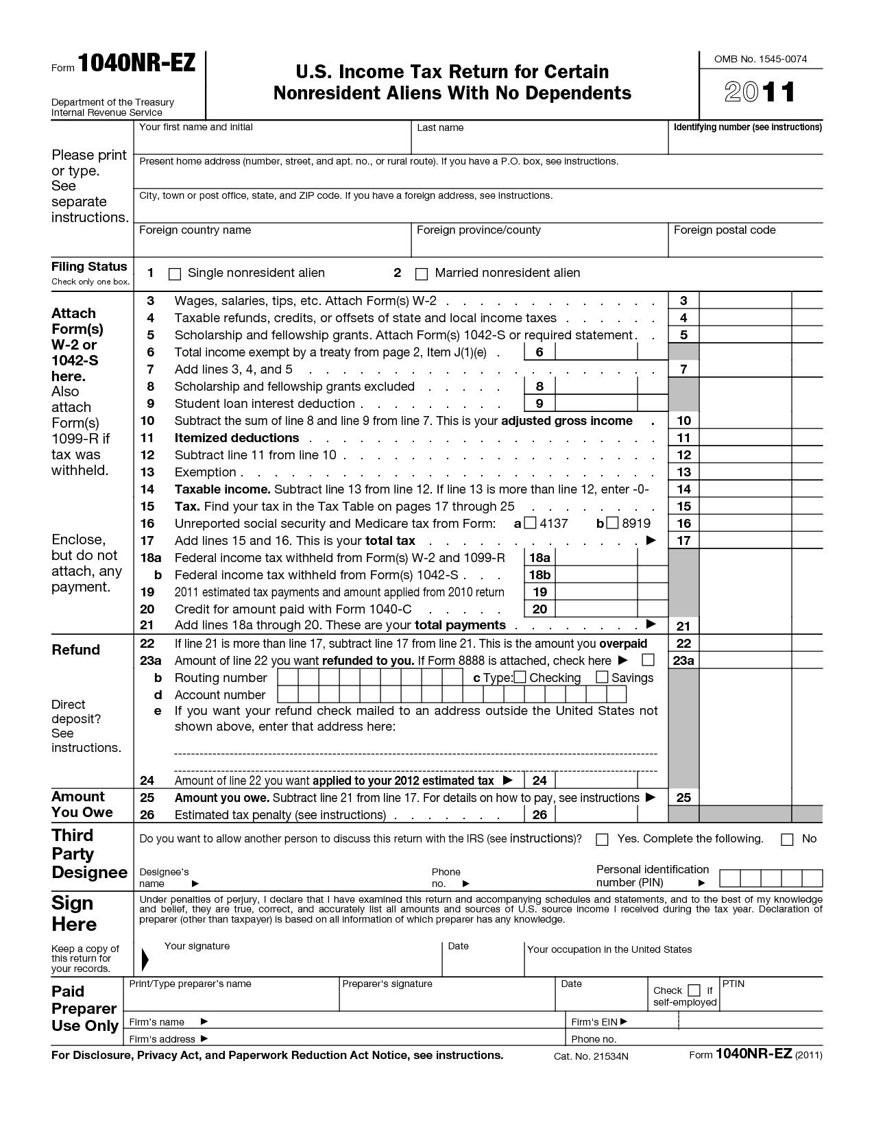 Ez File Tax Return