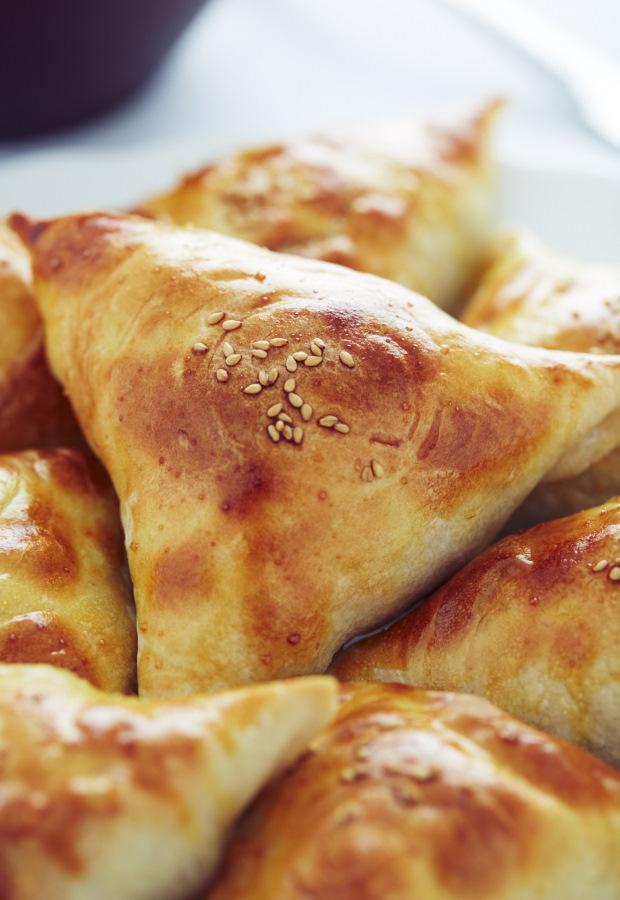 Meat Sambusa Recipe I Food Blogger