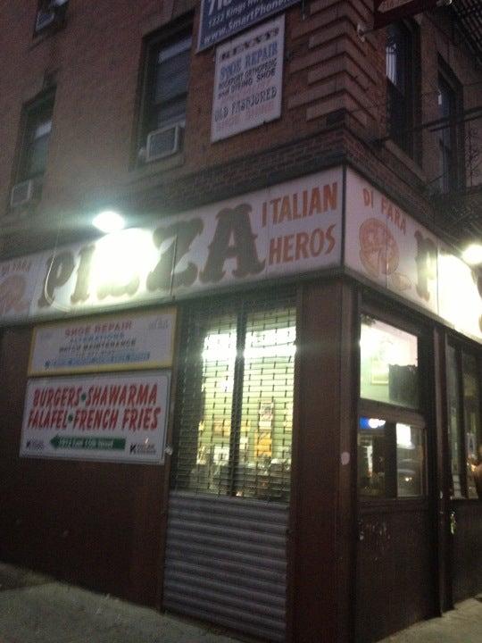 Di Fara Pizza At 1424 Avenue J At E 15th St Brooklyn Ny