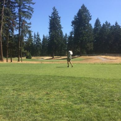 Photos at Lake Spanaway Golf Course   15300 15510 Pacific Ave S Photo taken at Lake Spanaway Golf Course by Mallory C  on 7 7
