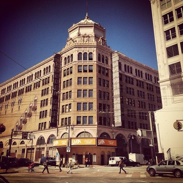 Closest Restaurants Golden Gate Theatre