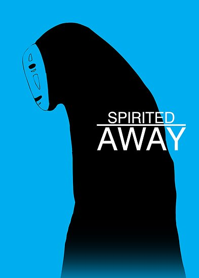 Quot Spirited Away No Face Quot Poster By Kanahyde Redbubble