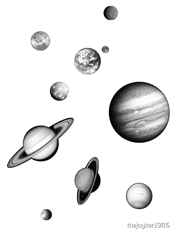 Solar System Removable Wall Stickers