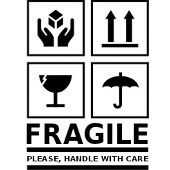 """""""Fragile - Handle With Care"""" Poster by neviz 