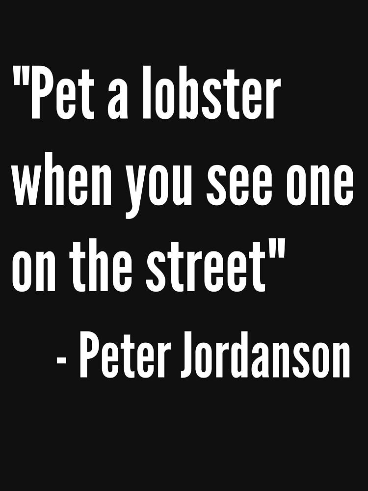 Jordan Peterson Lobster T Shirt