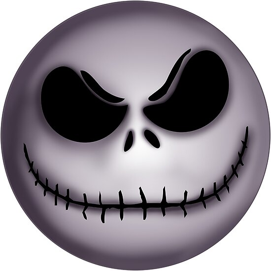 """""""Jack Skellington scary face """" Photographic Prints by ..."""