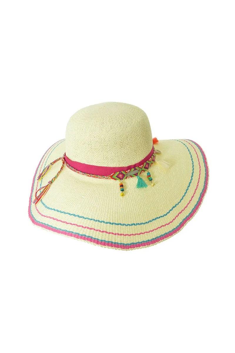 10e750e342656 Seeberger Floppy Hat Natural Straw Bikinicom