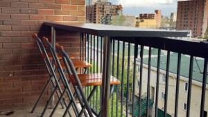 Balcony Bar IKEA Hackers