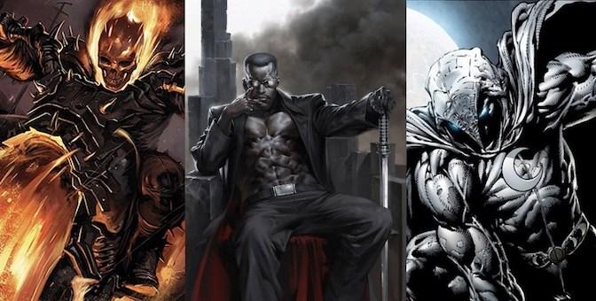 Rumors] Netflix: Blade, Moon Knight & Ghost Rider Series ...