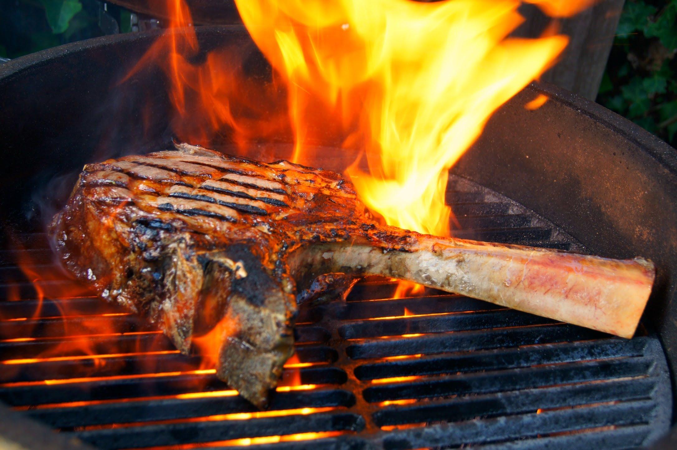 Monster Tomahawk Steak I Love Grill