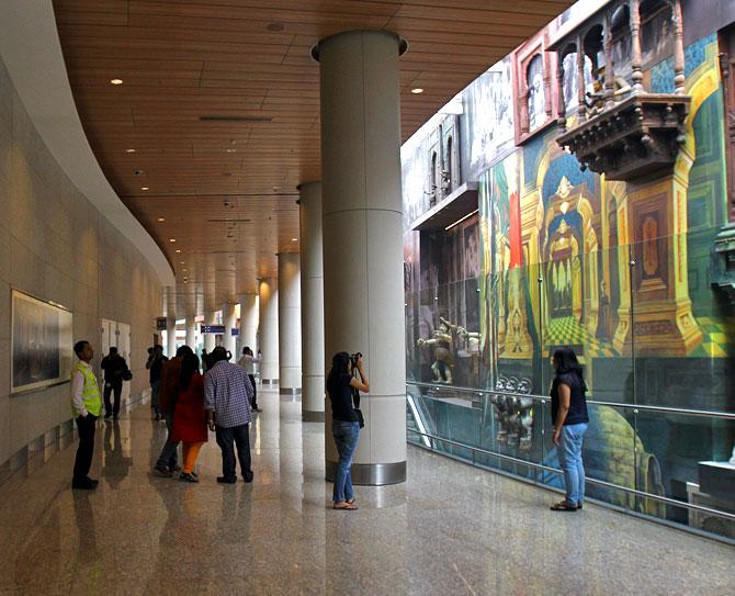 Mumbai S Classy T2 Terminal To Rival World Class Art