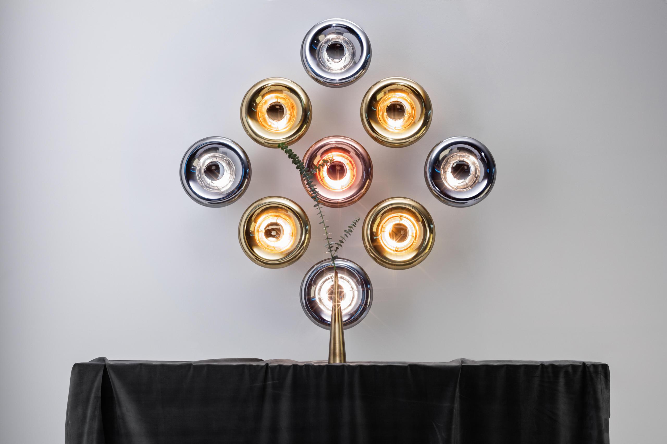 Tom Dixon Copper Pendant Lights