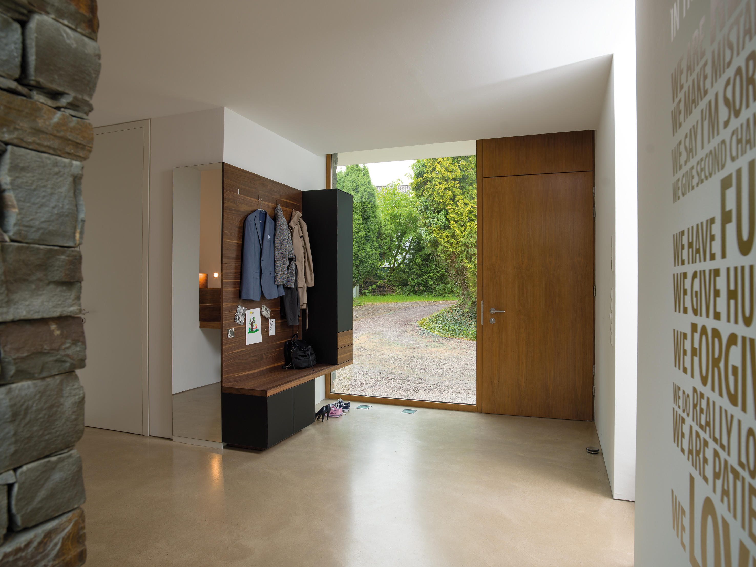 Cubus Pure Entry Hall Cloakroom Cabinets From Team 7