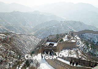 Beijing Weather Conditions  Forecast with Climate Graph Beijing Great Wall in Winter