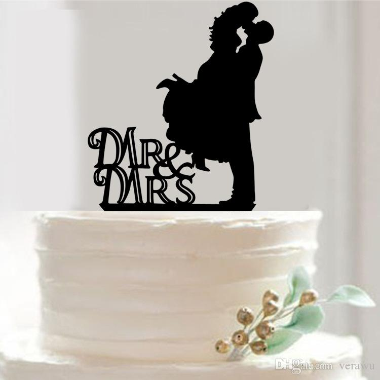 Romance Novel Wedding Cake Topper Acrylic Custom Name Cake Topper     Romance Novel Wedding Cake Topper Acrylic Custom Name Cake Topper Wedding  Cake Decorations Mr   Mrs In Cake Top Cheap Wedding Cake Decorations Cake  Topper