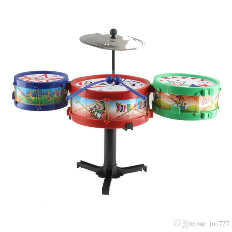 2018 Hot Sales Children Musical Instruments Toy Kids Drum Kit Set     2018 Hot Sales Children Musical Instruments Toy Kids Drum Kit Set Colorful  Plastic Drum From Top777   12 96   Dhgate Com