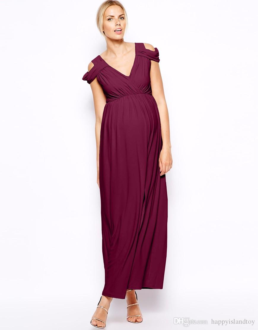 Pregnant Bridesmaid Loose Dress