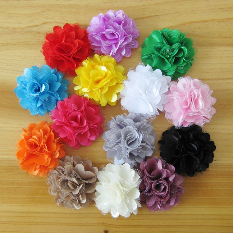 2 Rosette Flat Back Artificial Flowers Satin Silk Carnation Fabric     1034640010 1684258273  1034640005 1684258273  1034640487 1684258273