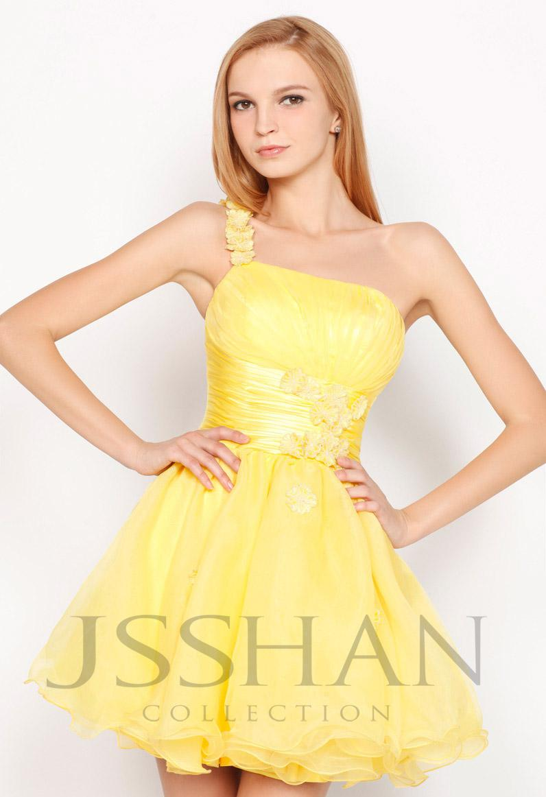 Yellow Dresses Juniors