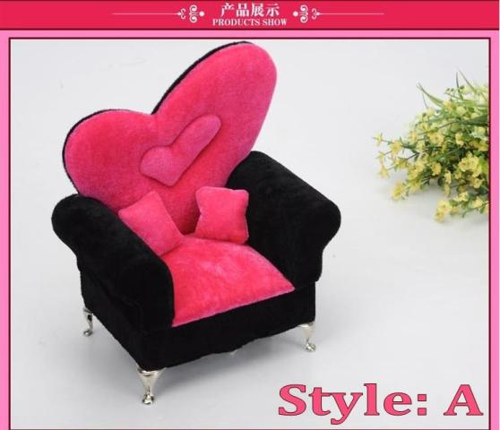 2018 Sofa Velvet Jewelry Box   Jewelry Box Princess Sofa   Bed Type         Sofa velvet jewelry box   jewelry box princess sofa   bed type Jewelry  Box Cosmetic