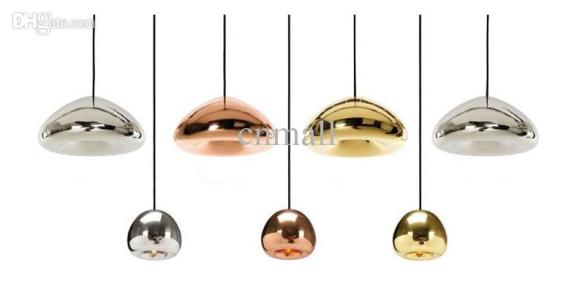 Tom Dixon Mini Void Light Copper Light Copper Silver Gold Void Big     Tom Dixon Mini void light copper Light Copper Silver Gold Void Big Mini
