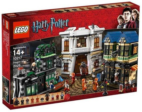 Sell LEGO Harry Potter 10217 Diagon Alley id 19263297  from Monitor     Sell LEGO Harry Potter 10217 Diagon Alley
