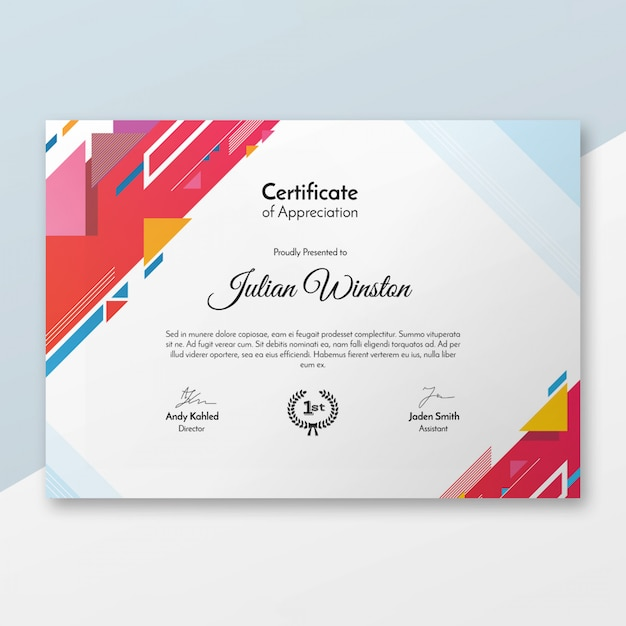 Certificate Backgrounds Vectors, Photos and PSD files ...