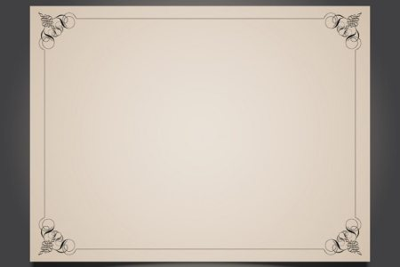 Decorative border card Vector   Free Download Decorative border card Free Vector
