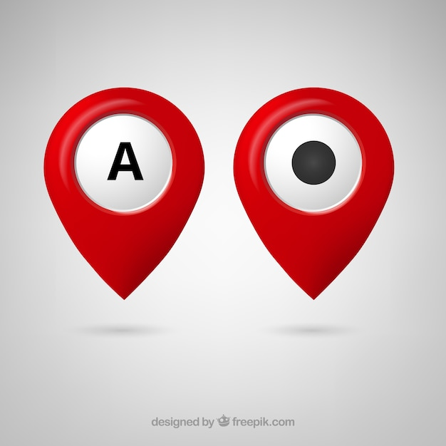 Free Google Maps Pointer Icon Vector   Free Download Free Google Maps Pointer Icon Free Vector