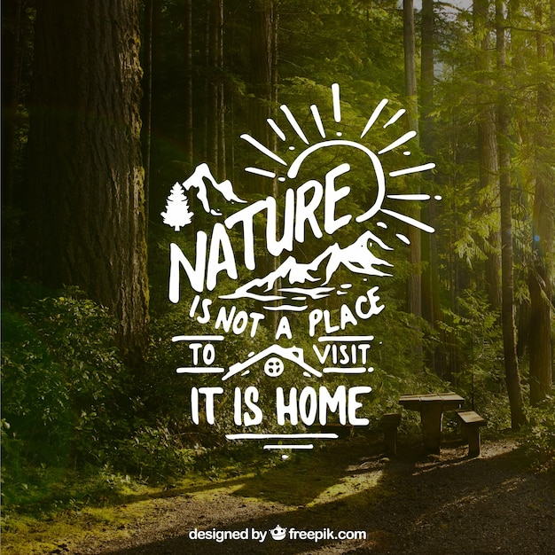 Nature Quote Vectors Photos And Psd Files Free Download