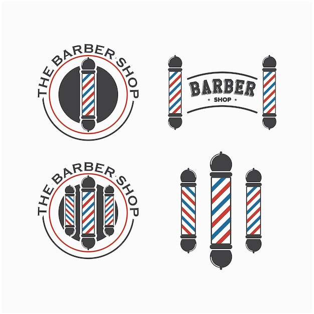 barber logo template - 626×626