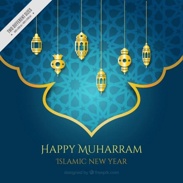 Happy islamic new year greeting in arabic m4hsunfo