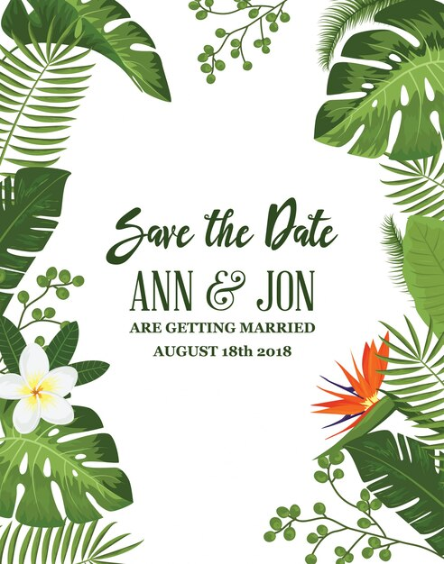 Cool Save Date Invites