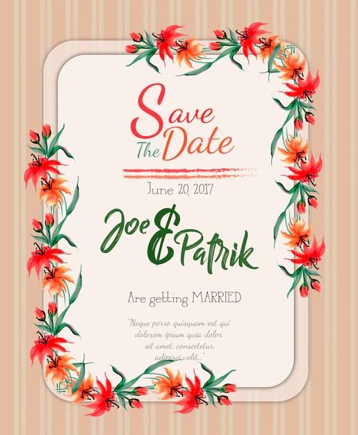 Wedding Invitation Backgrounds
