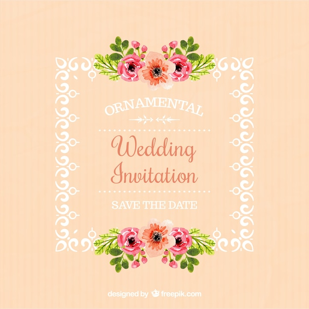 Invitation Wedding Card Design