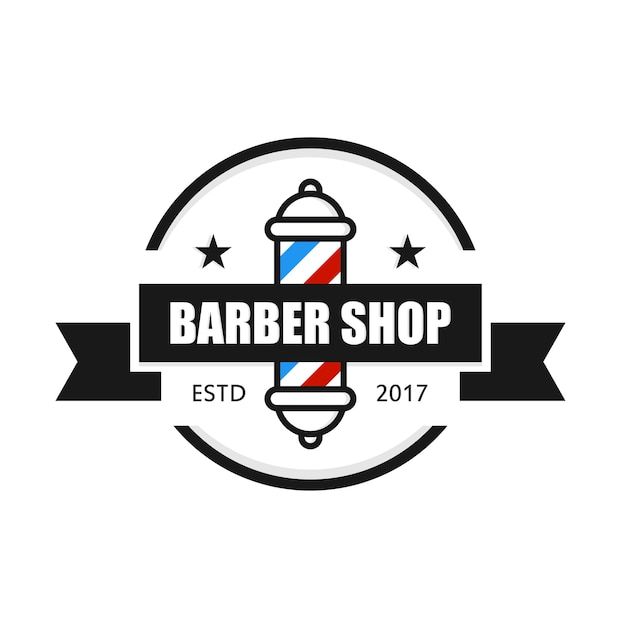 barber logo template - 626×625