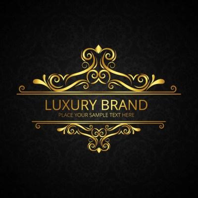 Fundo dourado e dourado da marca de luxo   Baixar vetores ...