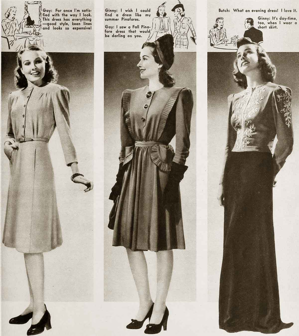 1940s Fashion   Cool Winter Styles   Glamour Daze 1940s fashion Winter styles for January 1941b