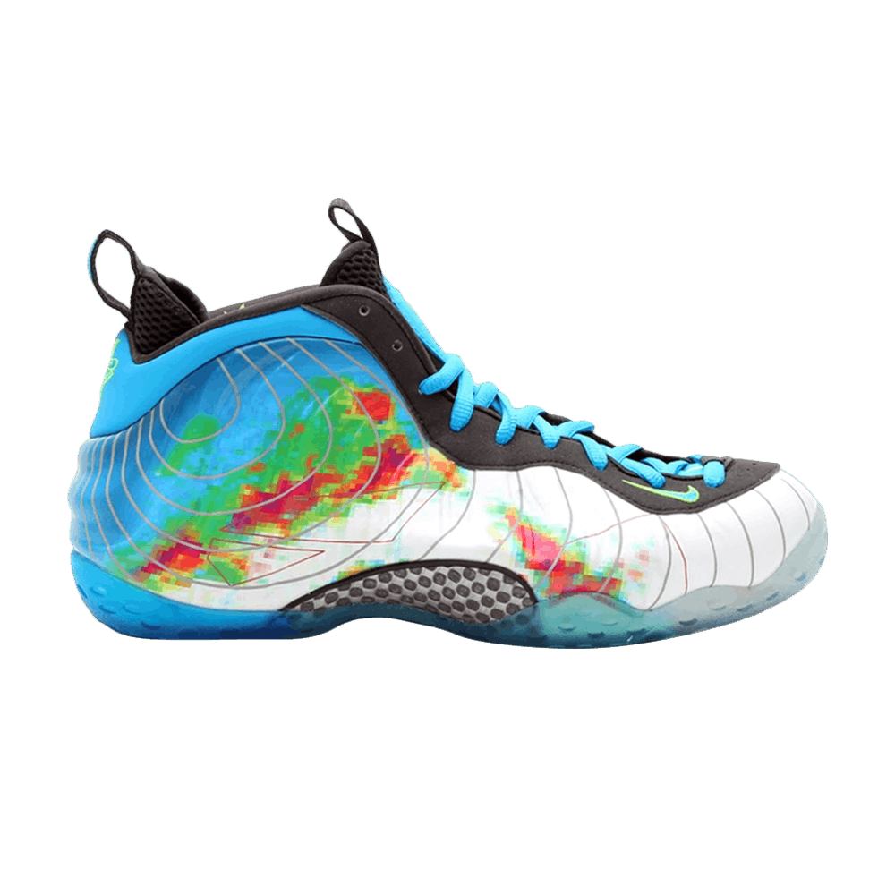 Air Foamposite One Prm Weatherman Nike 575420 100 Goat
