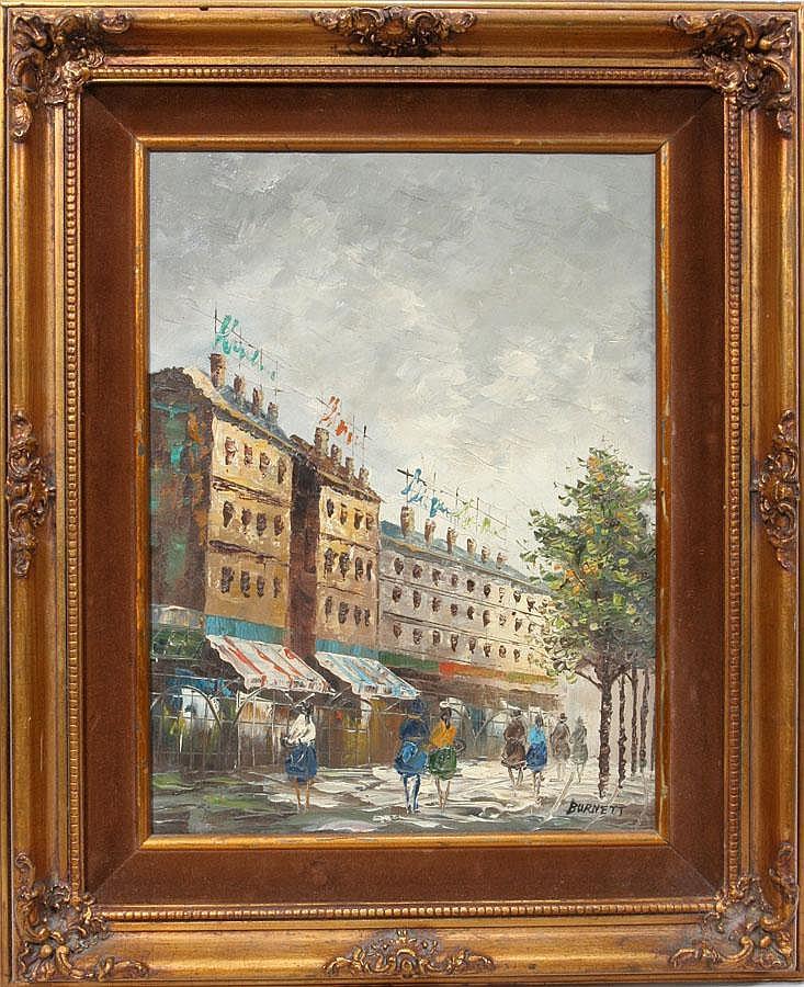 Famous Oil Painter Burnett Sales