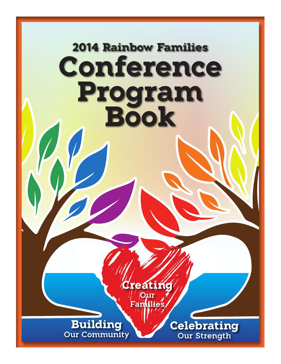 Rainbow Families 2014 Conference Program Book by 202design ...