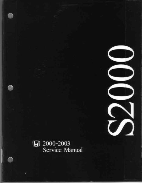 Honda S2000  00 03  Service manual 01 by ROB     issuu
