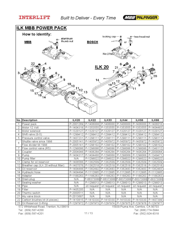 Mbb Interlift Wiring Diagram