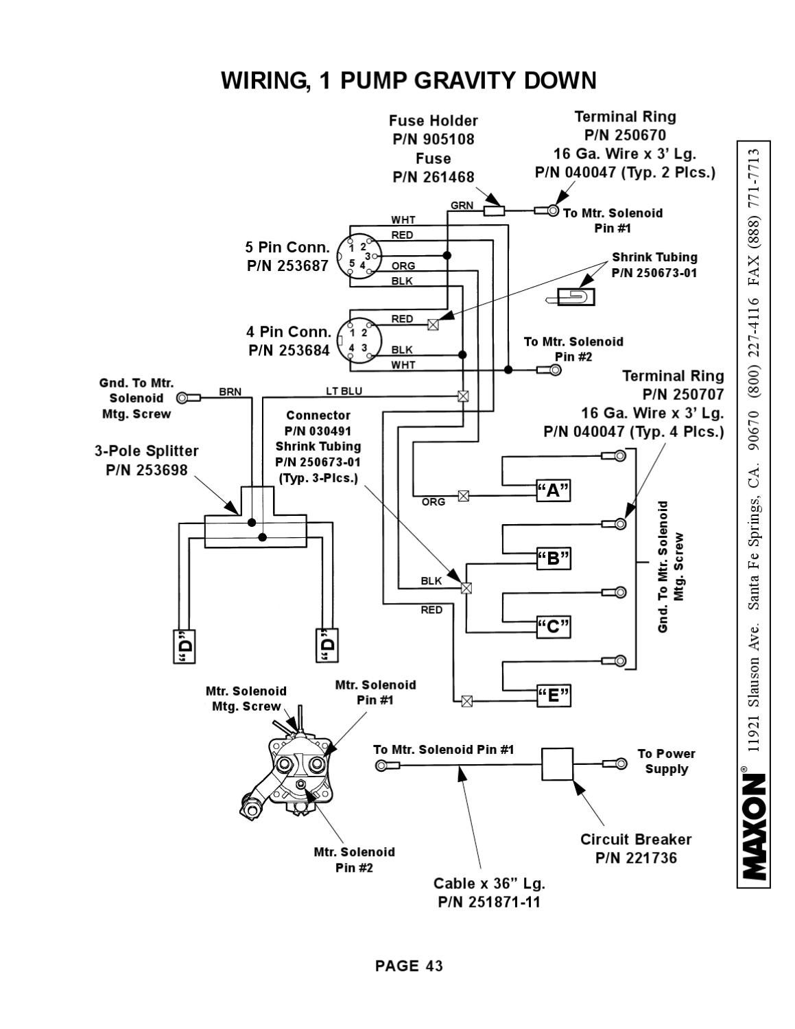 Tommy Lift Wiring Diagrams Eagle Gate Truck
