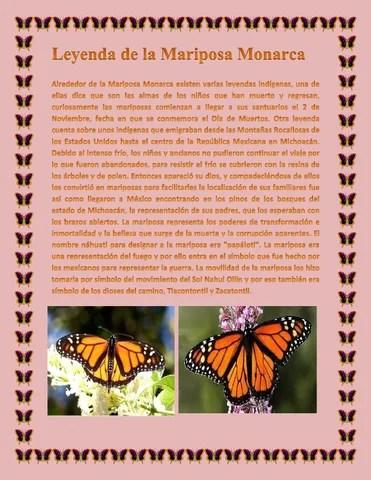Leyenda De La Mariposa Monarca By Severiano Issuu