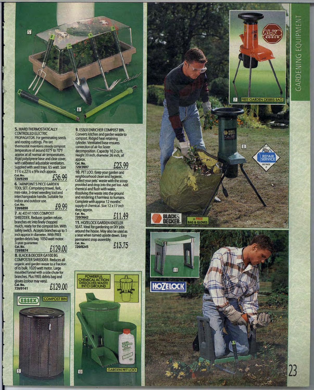 Garden Refuse Shredder