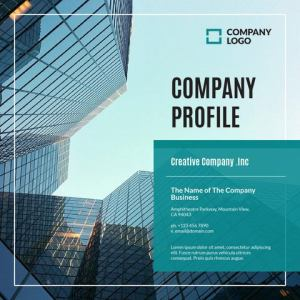 Company Profile Template V02 by IGStudio   issuu COMPANY PROFILE Creative Company  Inc The Name of The Company Business  Amphitheatre Parkway  Mountain View  CA 94043 ph   123 456 7890 e   email domain com