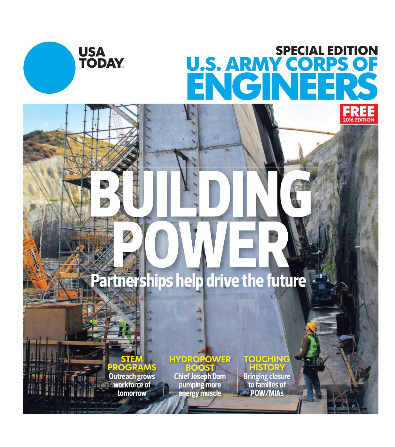Army Corps Of Engineers By Studio Gannett Issuu