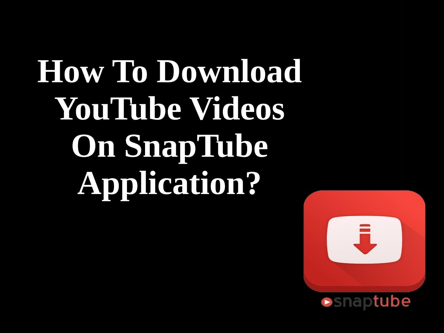 how to download youtube videos - HD 1500×1124
